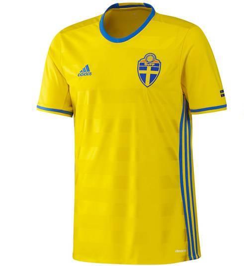 New Sweden Home Shirt Euro 2016