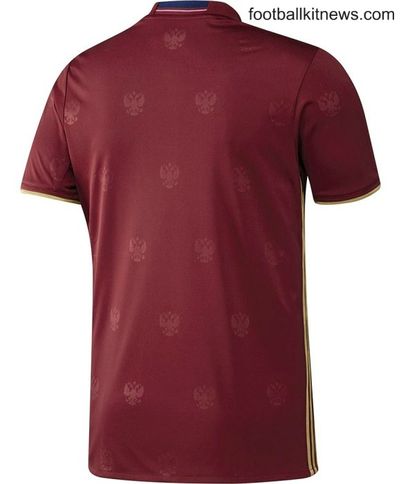 Russia Euro 2016 Shirt Back