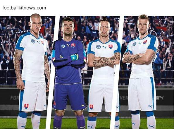 Slovakia Euro 2016 Jersey