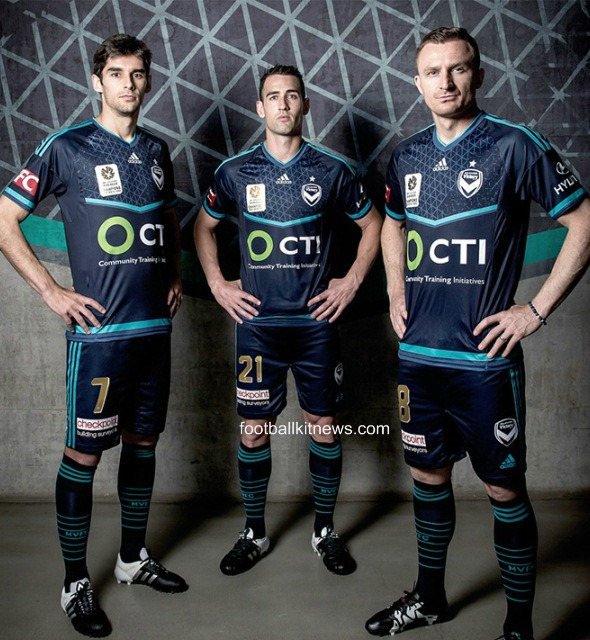 Alisson Wears Special Alloy Goalkeeper Kit Vs Barcelona: New Melbourne Victory Champions Jersey 2015- MVFC Special