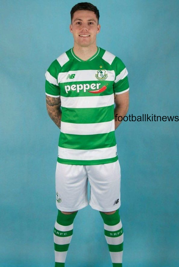 New Shamrock Rovers Kit 2016- Shamrock New Balance Home Jersey 2016