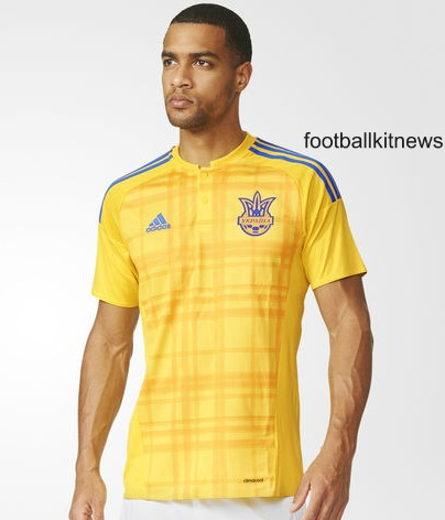 Leaked New Ukraine Euro 2016 Jersey- Adidas Ukraine Home Shirt 2016-2017