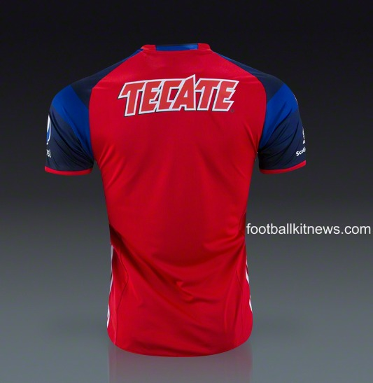 more photos abe3e a88d5 New Chivas Third Jersey 2016- C.D. Guadalajara 3rd Kit 2016 ...