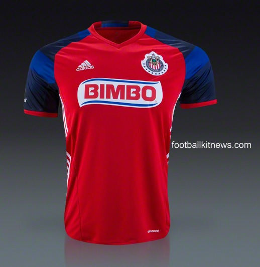 New Chivas Third Jersey 2016- C.D. Guadalajara 3rd Kit 2016 by Adidas
