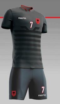 Albania Macron Shirt 2016 17