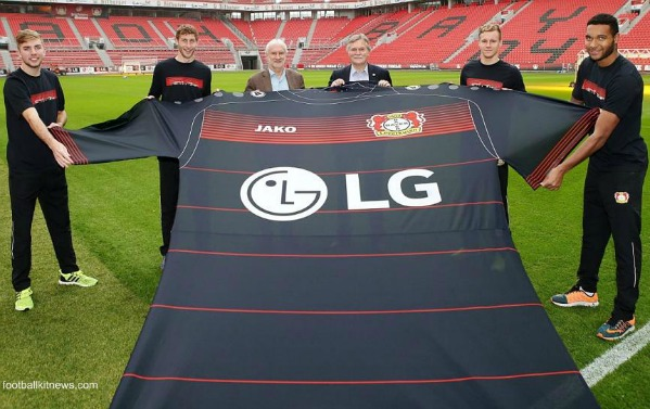 New Bayer Leverkusen Jako Kit Deal- Jako to make Bayer 04's uniforms from 2016-17