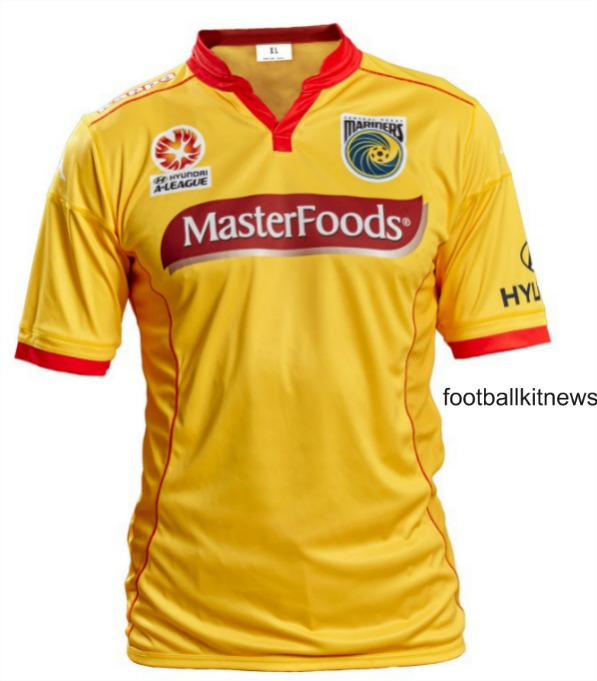 New Central Coast Mariners Surf Life Saving Jersey v Newcastle Jets February 28 2016