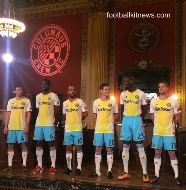 Columbus Crew Uniform 2016