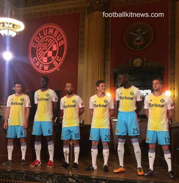 Columbus Crew Uniform 2016