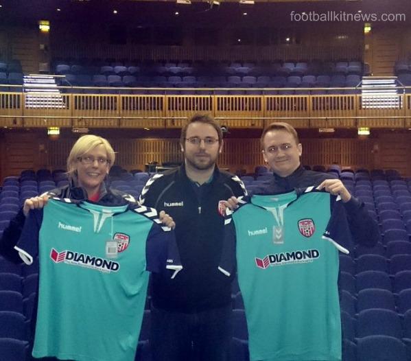 Derry City FC Away Kit 2016