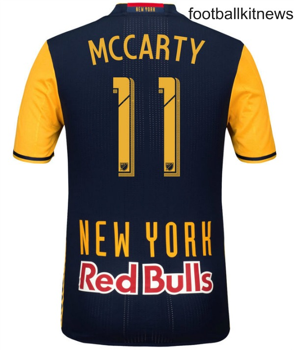 NYRB Away Shirt 2016 Back