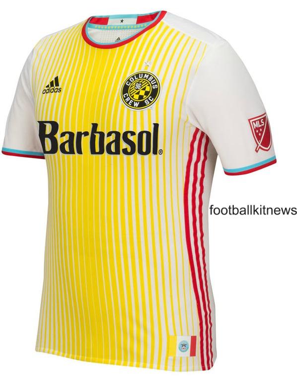New Columbus Crew Jersey 2016