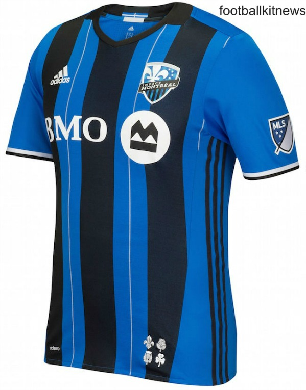 1afb6eac5 New Montreal Impact Jersey 2016- IMFC MLS Home Kit 2016 Adidas ...