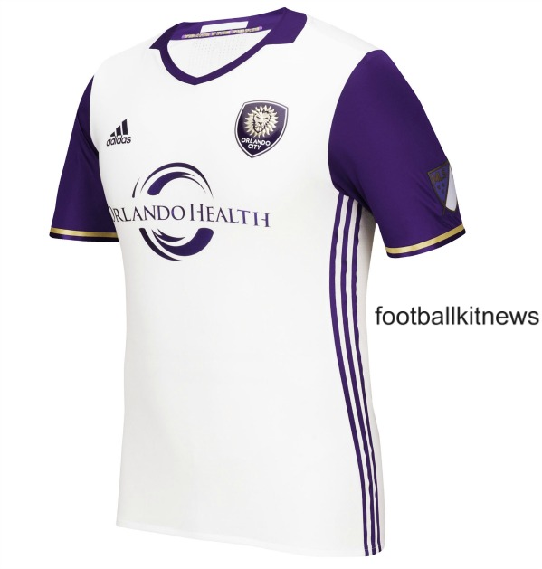 New Orlando City SC Away Kit 2016- Orlando MLS Alternate Jersey Adidas