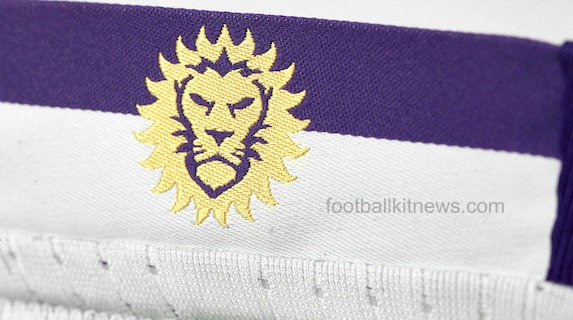 Orlando City New Away Shirt 2016 Closeup