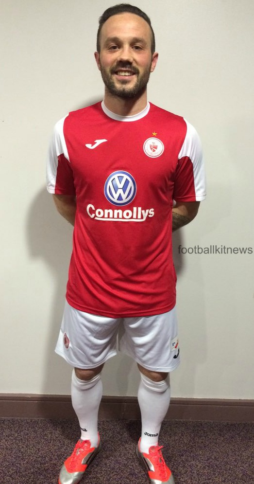 Sligo Rovers Joma Jersey 2016
