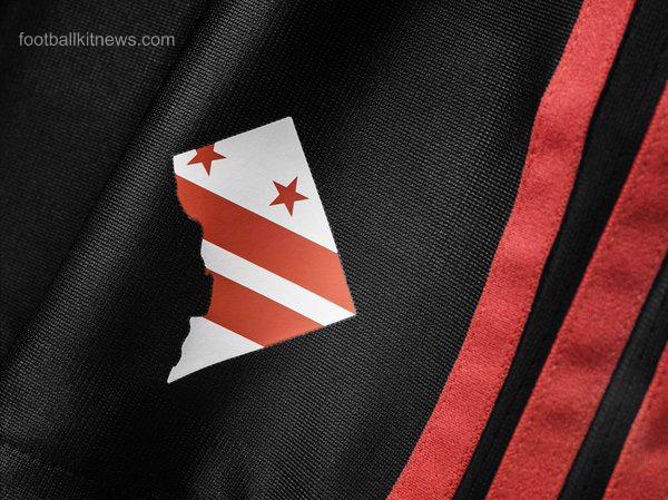 Washington DC Flag Soccer Jersey