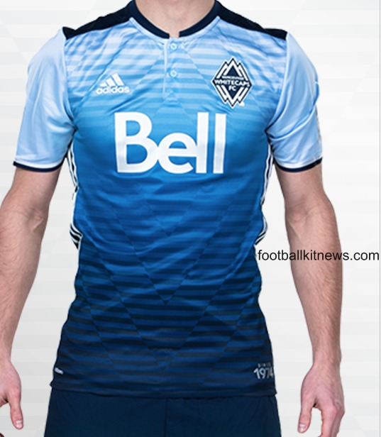 Whitecaps Away Jersey 2016