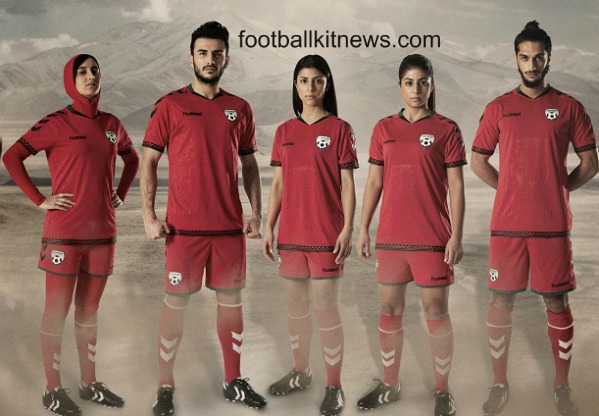 Afghanistan Football Shirt 2016 Hummel