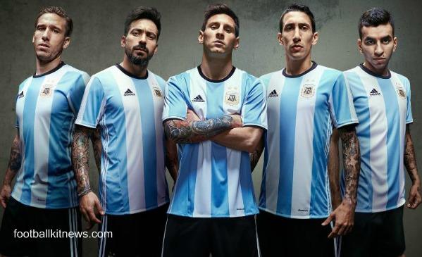 Argentina Home Kit 2016 17