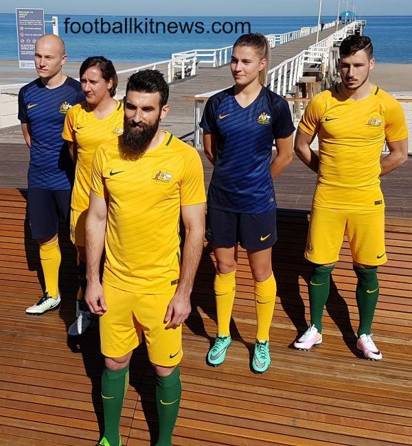 New Socceroos Jersey 2016-17- Nike Australia Soccer Kits 16-17