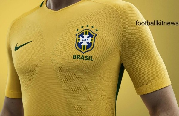 New Brazil Kits 2016-17- Nike Home & Away Jerseys 16/17