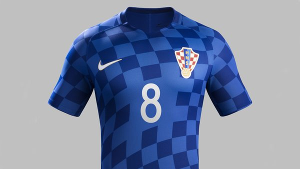 New Croatia Euro 2016 Jerseys- Croatia unveil 16 17 Home   Away Nike ... 9be2300df