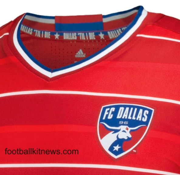 New FC Dallas Home Jersey 2016- FCD Adidas MLS Primary Kit 2016