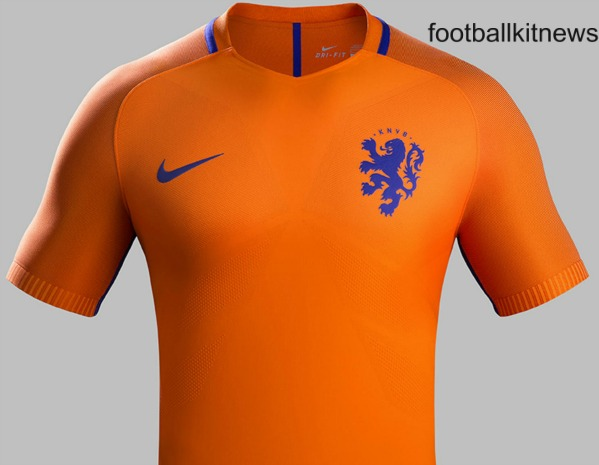 2261543fb New Netherlands 2016-17 Kits- Holland unveil new home   away Nike ...