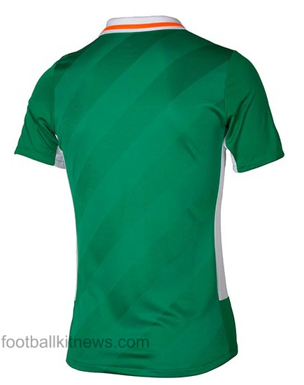 Ireland Euro 2016 Shirt Back