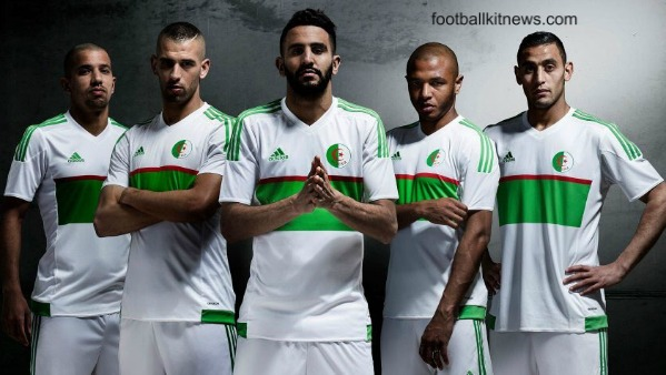 New Algeria Kit 2016-17- Adidas Algeria Jerseys 16-17