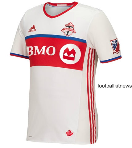 White Toronto FC Jersey 2016- New TFC Away Kit MLS by Adidas