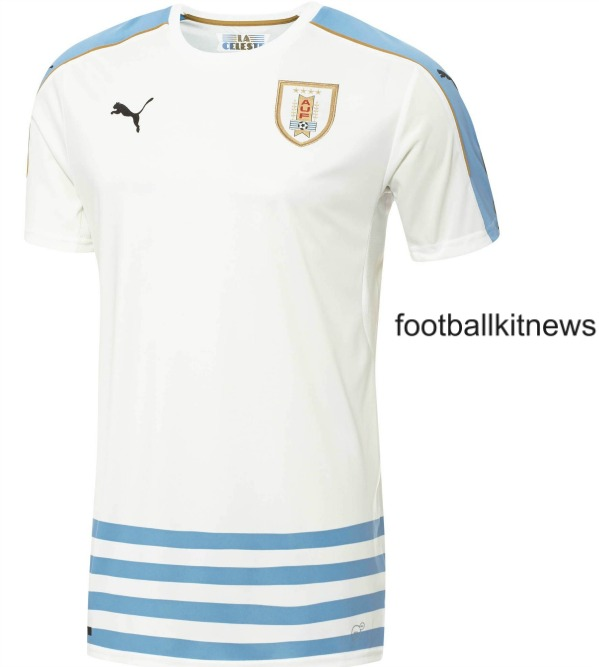 New Uruguay Away Kit 2016 17