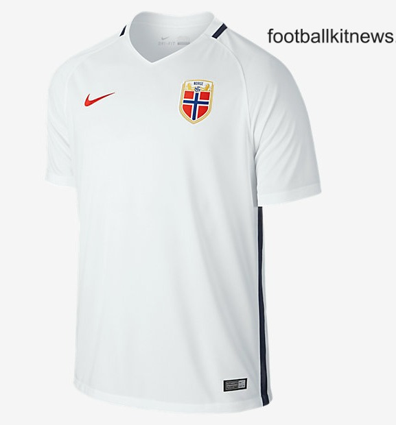 Norway Away Shirt 16 17