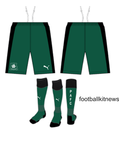 Plymouth Argyle Kit 16 17