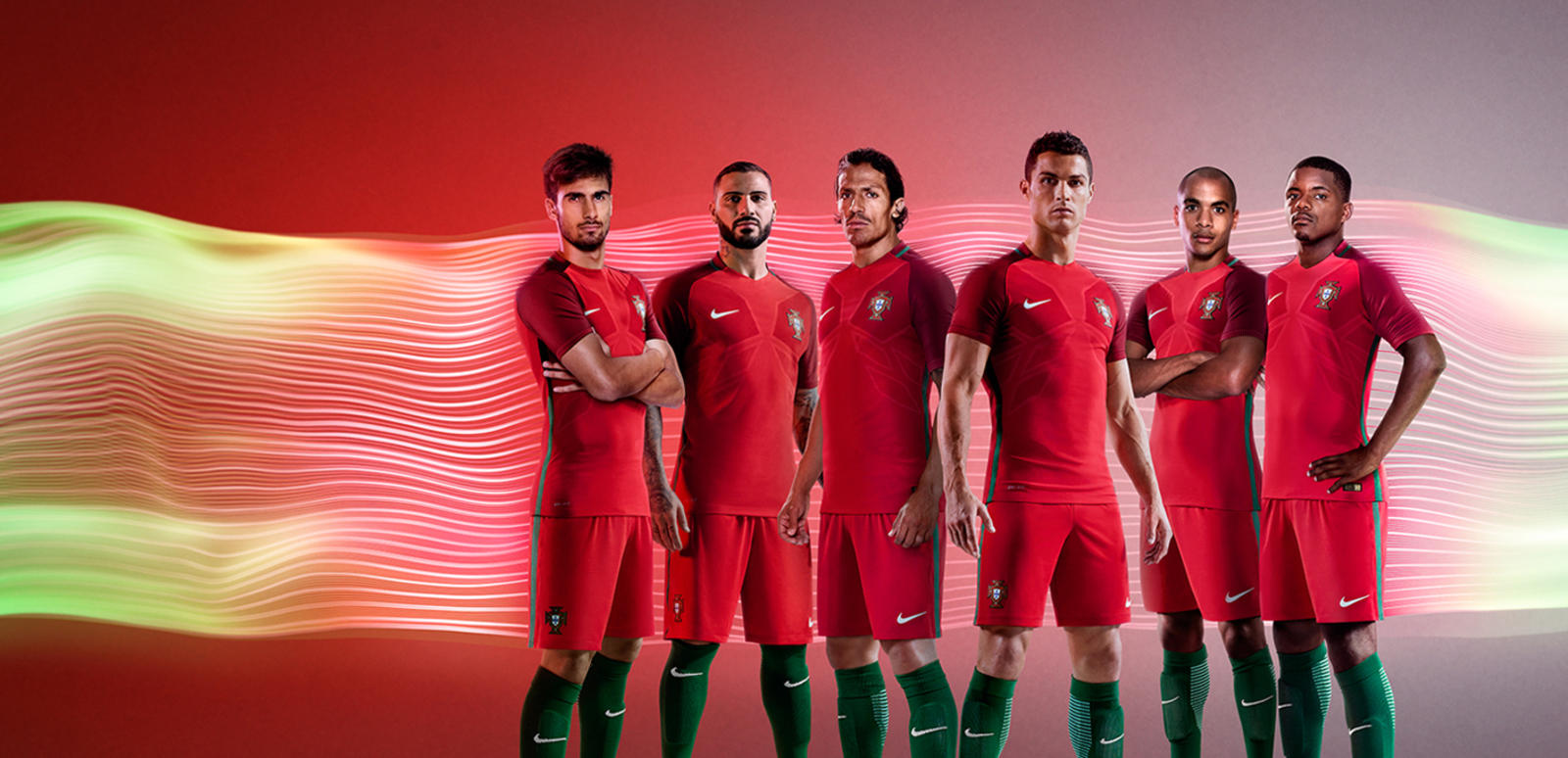 Portugal Home Jersey Euro 2016