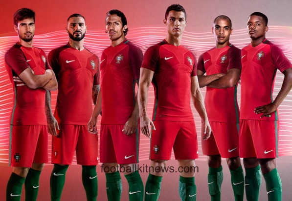 New Portugal Euro 2016 Kits- Nike unveil 2016-17 Portuguese jerseys