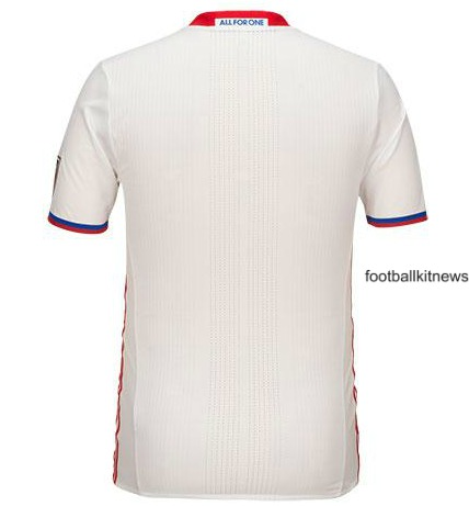 TFC Away Kit 2016 Back