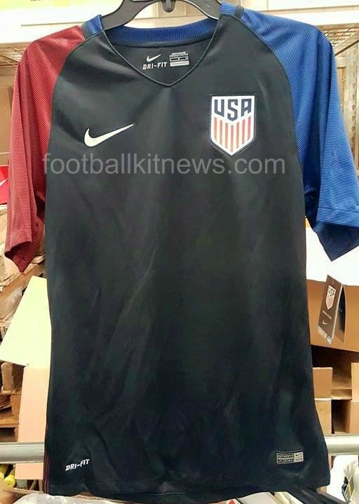 USA Away Shirt 2016-17 Leaked