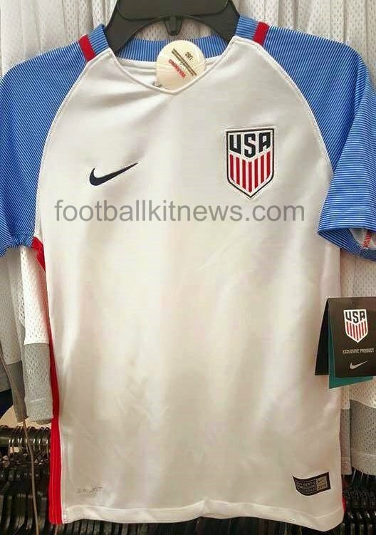 USA Home Shirt 2016-2017 Leaked
