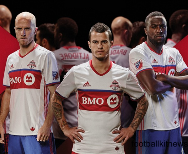 reputable site a40d9 e6d29 White Toronto FC Jersey 2016- New TFC Away Kit MLS by Adidas ...