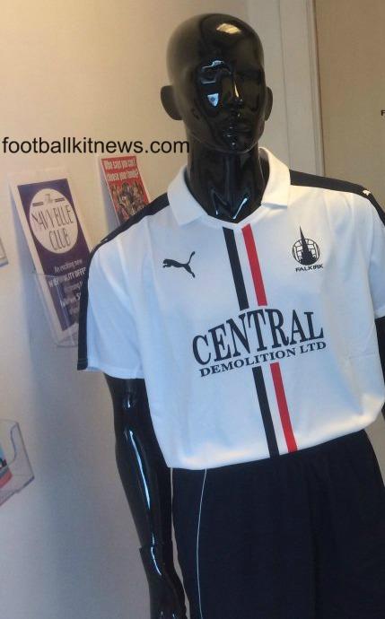 Falkirk FC Kit 2016 17