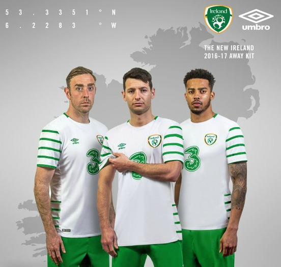 Ireland Away Kit Euro 2016
