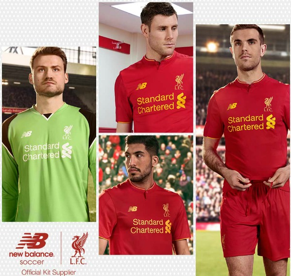 Leaked New Balance Liverpool Home Shirt for 2016/17
