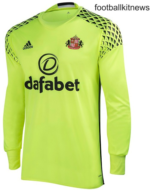 Sunderland Goalkeeper Shirt 2016 17