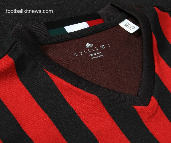 AC Milan Home Shirt Closeup