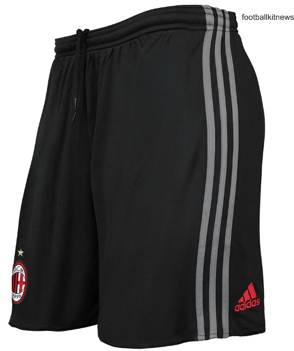 AC Milan Home Shorts 2016 2017