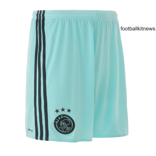 Ajax Away Shorts 16 17