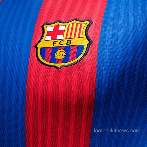 Barca Home Top 16 17