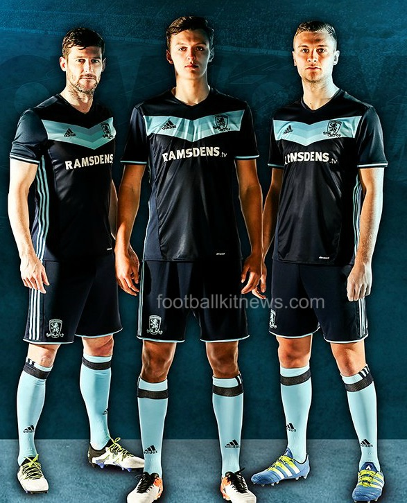 Boro Away Kit 16 17